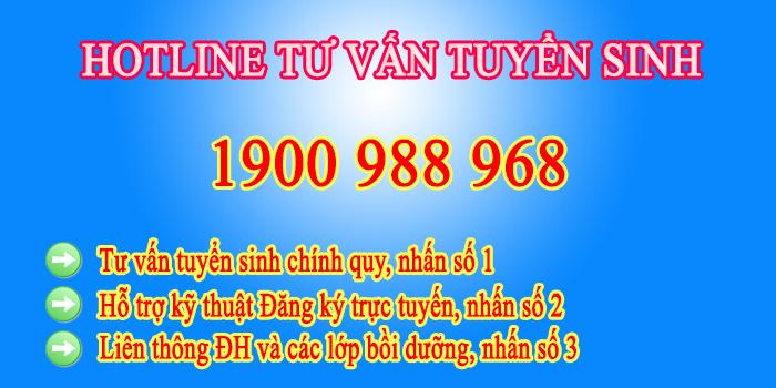 Tong dai tuyen sinh
